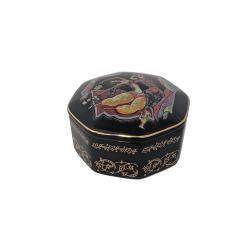 Russian Porcelain Miniature Music Box - Scheherazade