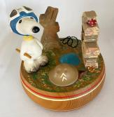 Snoopy on the Ground Music Box by Anri
