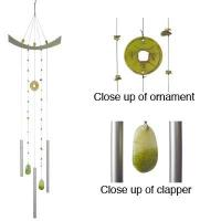 Woodstock Wind Chimes - Chi Energy (Jade)