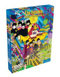 Yellow submarine jigsaw puzzle