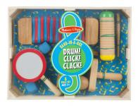 Drum Click Clack Band in a Box by Melissa & Doug