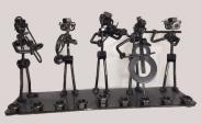 Judaica _ Menorah with Nuts and Bolts Orchestra