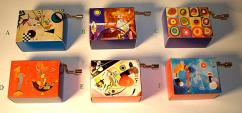 Hand Crank Musical Box Kandinsky Series