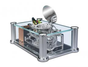 Reuge Music Box The Francastel Transparent Song Bird