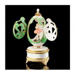 Musical Ornate Dance Ballerina Dance Goose Egg