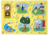 Melissan and Doug Nursery Rhyme Sound Puzzle
