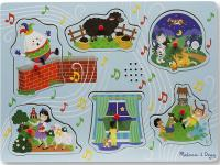 Melissa and Dound Nursery Rhymes Sound Puzzle
