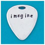Imagine Guitar Pick by Basic Spirit