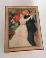Dance at Bougival, Renoir Music Box from Ercolano, Italy