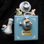 Multi Action Wooden telephone  Music Box by Pelman Mice on Telephone