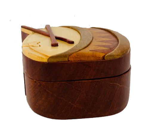 drum puzzle box