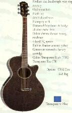 Hohner - Acoustic/Electric Cutaways - Maple Top