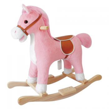 Musical Pink Pony rocking Horse