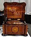 "Porter Disc Player Music Box - Porter Titus Serpentine 15 1/2"" (15.5)"