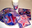 Party Paper Plates  Rock Stars Full Service for 8