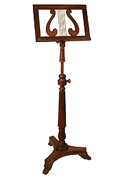 Decorative and Functional Music Stand