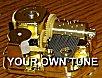 Gold Sankyo Custom Mechanism