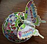 Cloisonne Musical Butterfly
