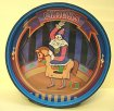 Animated Musical Bank  Clown on Horse
