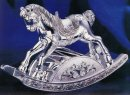 Wallace Silver-plated Musical Rocking Horse