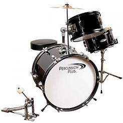 Children's 3 Piece Drum Set with Cymbal