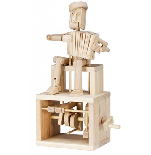 """Assembled """"Make Your Own Timberkit Accordion player"""