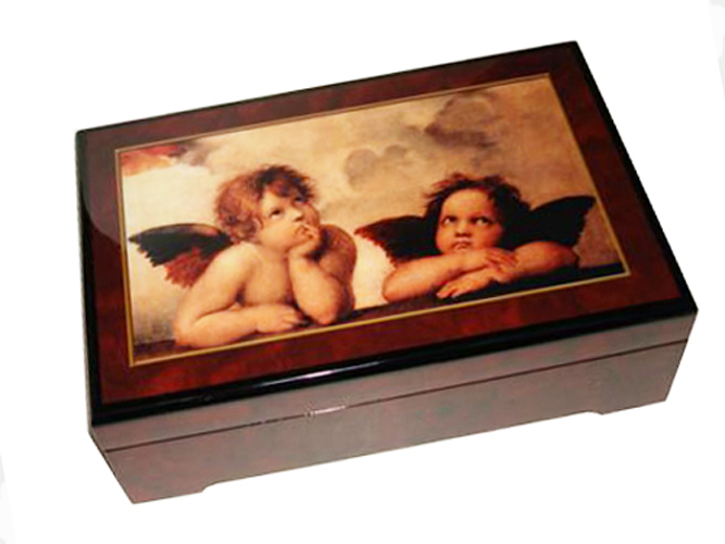 Two Cherubs Music Box by Raffaello (1.18)