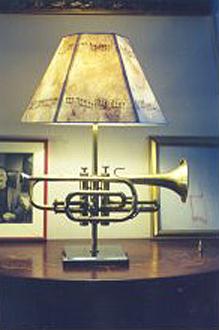 custom trumpet lamp