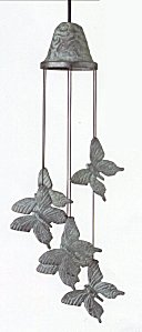 Woodstock Casted Butterfly Chime