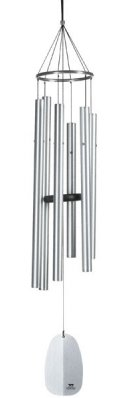 Woodstock Wind Chimes of Athena (Windsinger) Silver