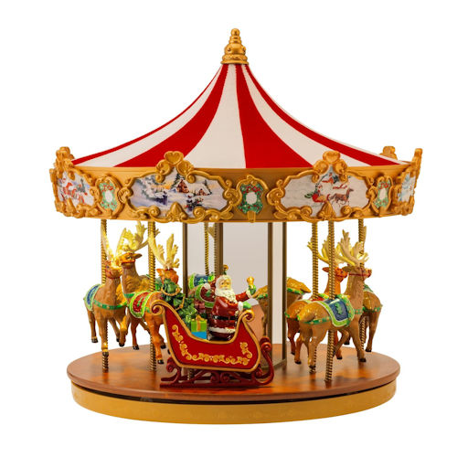 Very Merry Carousel By Mr. Christmas