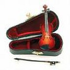 Miniature Violin 4 inch