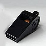 Acme Thunderer Black Plastic Whistle