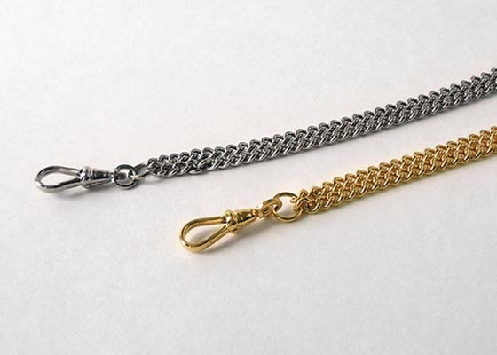 Acme Chain for Boatswain Whistle Silver