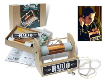 Crystal Radio Kit by Flights of Fancy