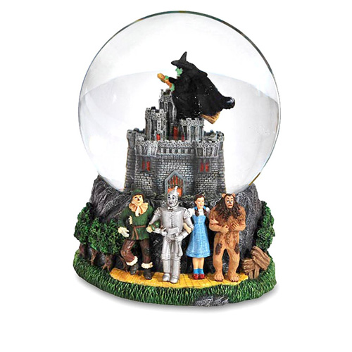 Wicked Witch's Castle Water Globe