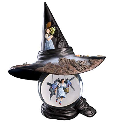Wicked Witch's Hat sits upon Water Globe