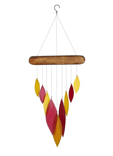 Woodstock Autumn Leaves Wind Chime